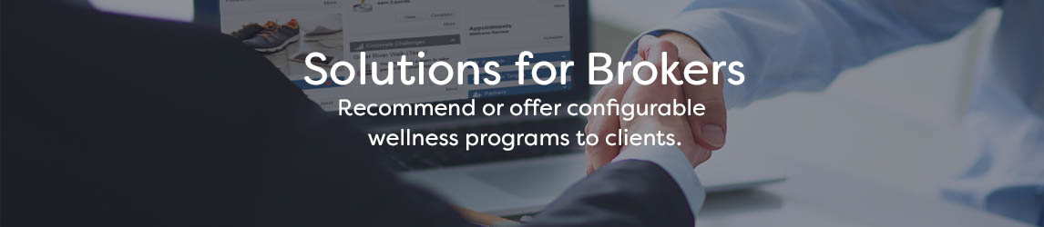 Solutions for Brokers Banner